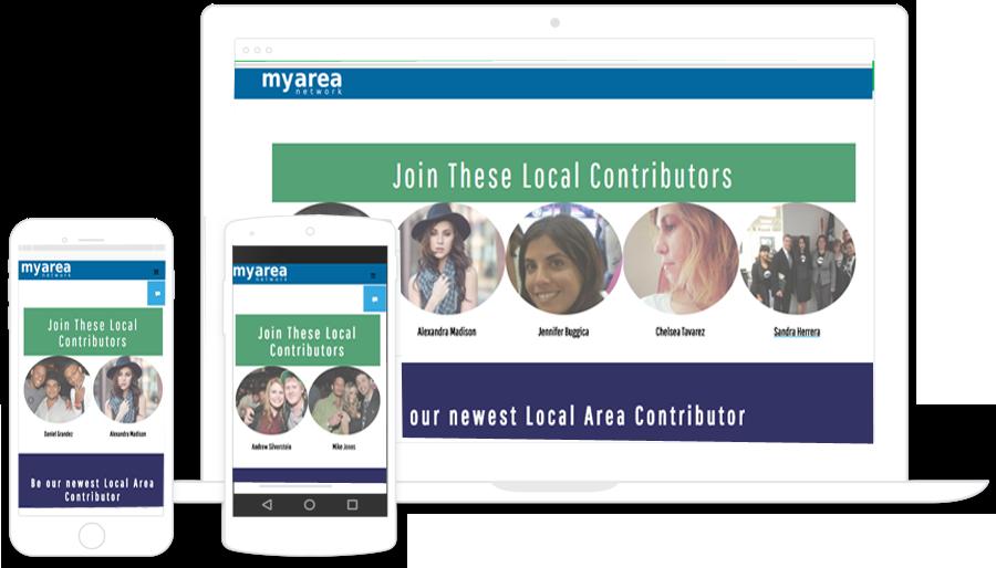 Become A Contributor - MyArea Network